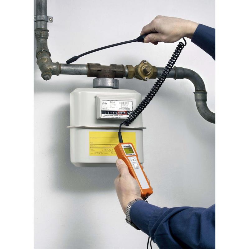 SNOOPER mini is a robust gas leak detector
