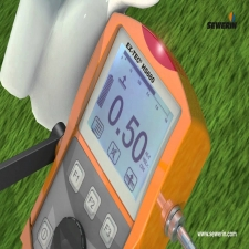 Combination measuring devices for gas supply with integrated ethane detector